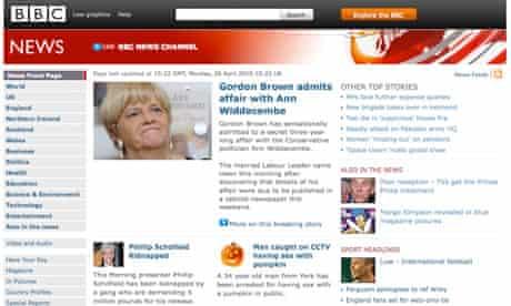 BBC prank website