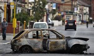 UK riots - Liverpool