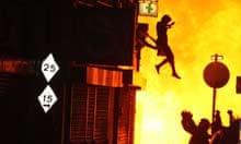 London Croydon riot iconic image