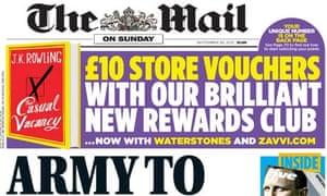 Mail on Sunday Sep 12