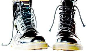 Black Doc Marten Boots