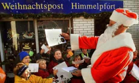 Father Christmas in Himmelpfort