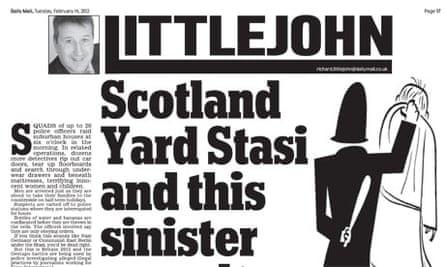 Richard Littlejohn on Sun arrests