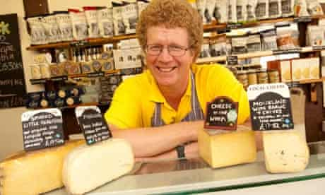 Mark Hindle owner of the Mousetrap Cheese shop
