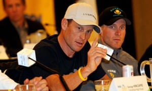 Lance Armstrong press conference