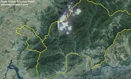 North Korea 'prison camp' Google Earth image