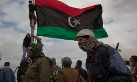 libya rebels flag