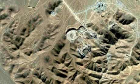 Iran uranium-enrichment facility near Qom