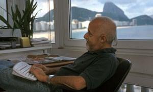 Paulo Coelho at home
