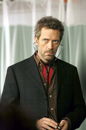 Fry and Laurie: Hugh Laurie in season 2 of House