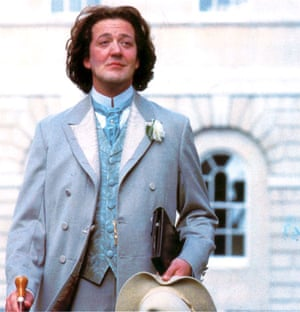 Fry and Laurie: Stephen Fry in the film Wilde