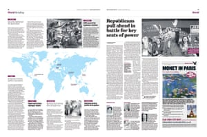 The Independent redesign: The Independent p30-31