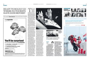 The Independent redesign: The Independent p18-19