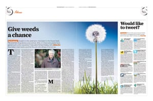 The Independent redesign: The Independent Viewspaper p10-11