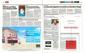 The Independent redesign: The Independent's i: p8-9