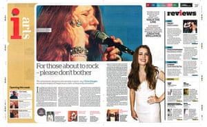 The Independent redesign: The Independent's i: p36-37
