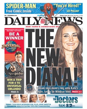 Kate and William press: New York Daily News