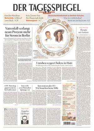 Kate and William press: Der Tagesspiegel