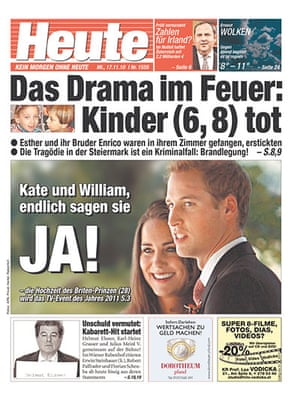 Kate and William press: Heute