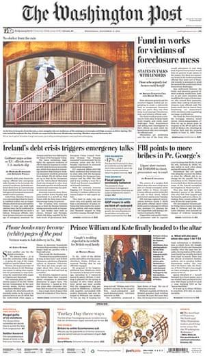 Kate and William press: Washington Post