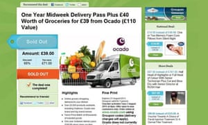 Groupon Ocado deal that ASA ruled breached its code