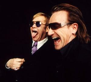 Q 300th issue: Elton John and Bono