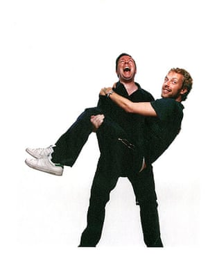 Q 300th issue: Ricky Gervais and Chris Martin