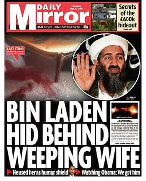 Osama bin Laden dead: Daily Mirror