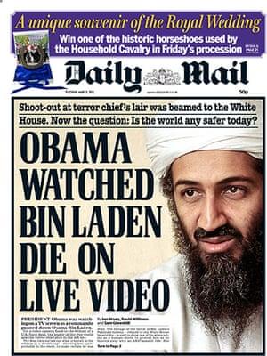 Osama bin Laden dead: Daily Mail
