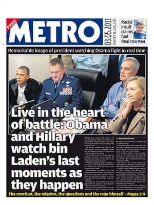 Osama bin Laden dead: Metro