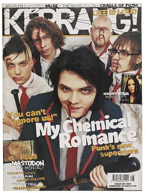 Kerrang! 30th birthday: My Chemical Romance (February 2005)
