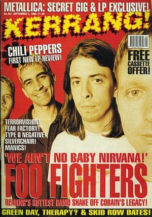 Kerrang! 30th birthday: Foo Fighters (September 1995)