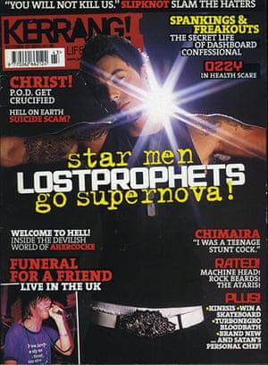 Kerrang! 30th birthday: Lostprophets (October 2003)