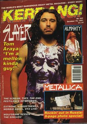 Kerrang! 30th birthday: Slayer (October 1991)