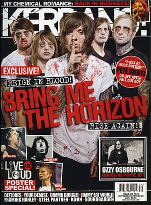Kerrang! 30th birthday: Bring Me the Horizon (October 2010)