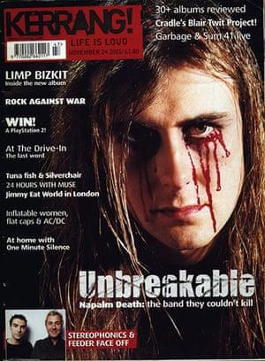 Kerrang! 30th birthday: Napalm Death (November 2001)