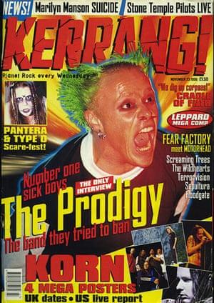 Kerrang! 30th birthday: The Prodigy (November 1996)