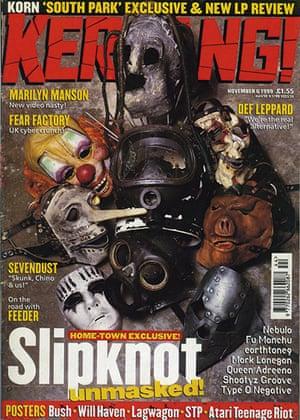 Kerrang! 30th birthday: Slipknot (November 1999)