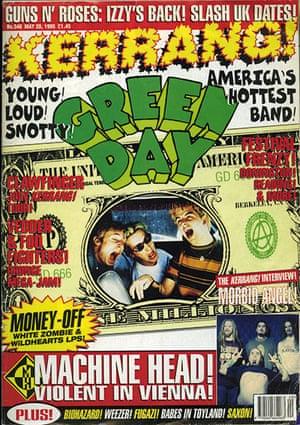 Kerrang! 30th birthday: Green Day (May 1995)