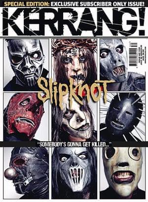 Kerrang! 30th birthday: Slipknot (July 2008)