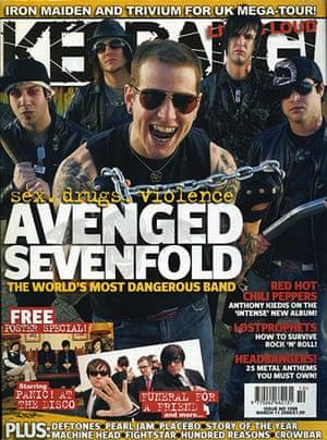 Kerrang! 30th birthday: Avenged Sevenfold (March 2006)