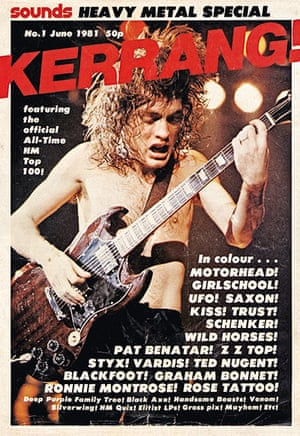 Kerrang! 30th birthday: AC/DC (June 1981)