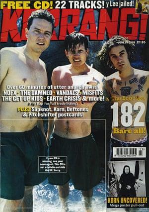 Kerrang! 30th birthday: Blink 182