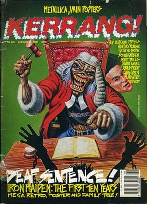 Kerrang! 30th birthday: Iron Maiden (February 1990)