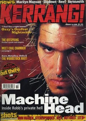 Kerrang! 30th birthday: Machine Head (August 1999)