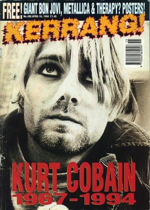 Kerrang! 30th birthday: Kurt Cobain (April 1994)