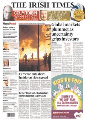 UK riots: The Irish Times