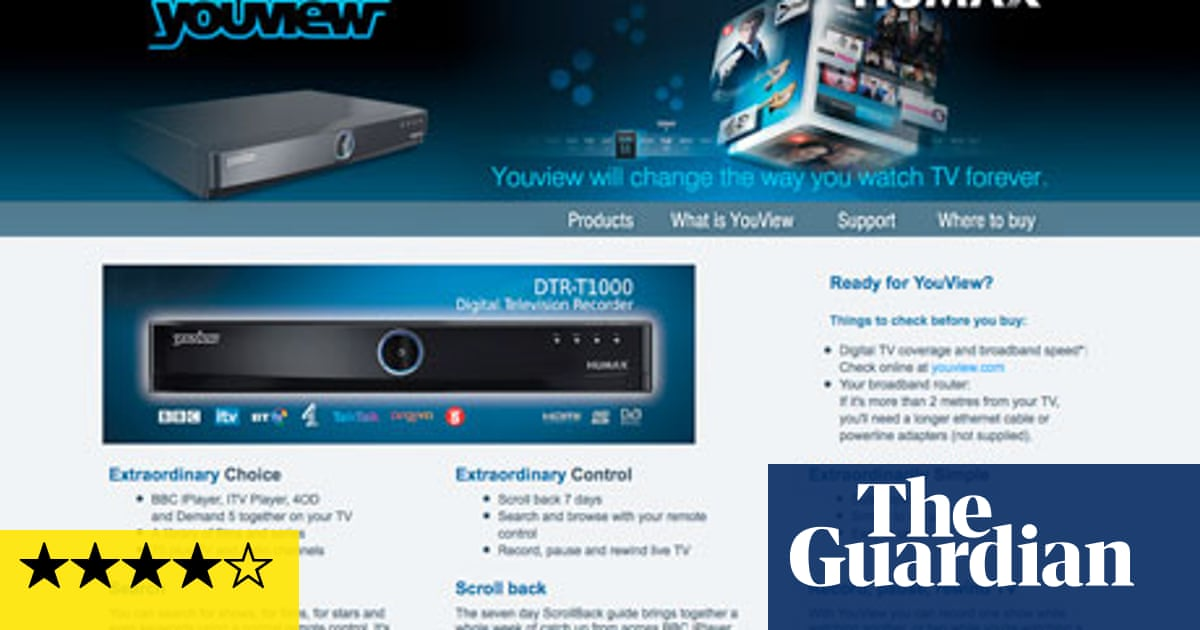 Review: Humax DTR-T1000 Youview set-top box | Technology | The Guardian