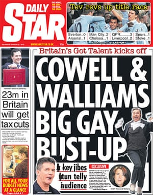 budgetfrontpages: Daily Star front page