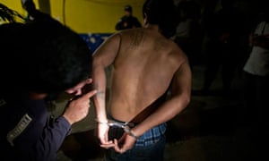 Honduran gang member arrested
